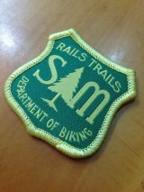 S&M / DEPARTMETN OF BIKING PATCH